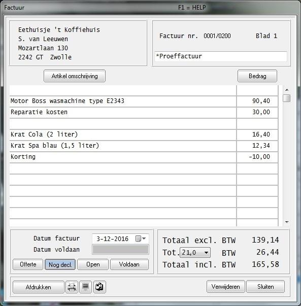 easy factuur Download hier Easy Factuur ®, het factureringsprogramma voor het MKB.